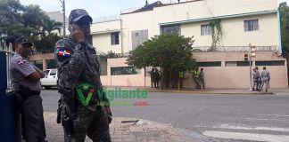 Tropas combinadas de la Policía Nacional y las Fuerzas Armadas