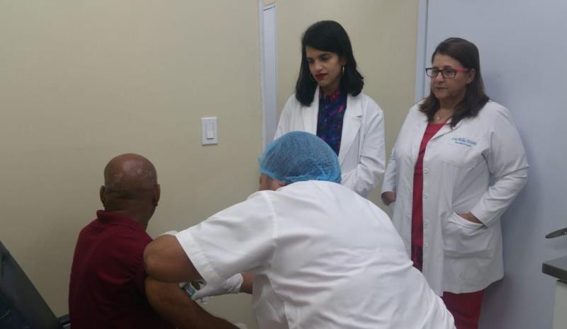 Hospital Moscoso Puello suministra gratis medicamento de alto costo