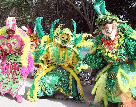 Celebran Carnaval de Hato Mayor
