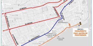cierre del Malecón por Maratón