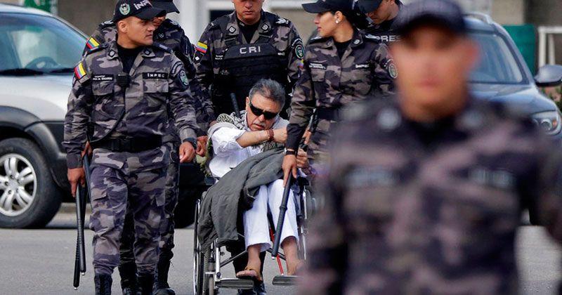 """Hospitalizado exlíder de la FARC """"Jesus Santrich"""" tras cortarse las venas"""