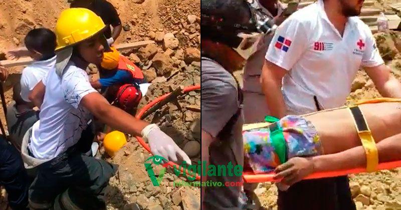 Suman cuatro los muertos en derrumbe y sigue búsqueda en Santiago