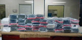 Cocaína falsa ocupada en Cancino