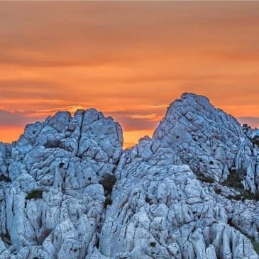 blue rock, sunset, dragomir vujnovic