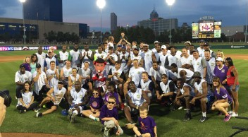 A group photo from the 2015 game.