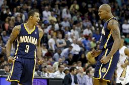 Former Pacer, George Hill, David West