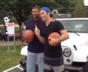 Jalen Rose and Brodie Smith