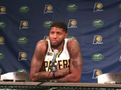 Paul George will be out through next Sunday, at the least.