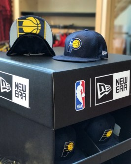 Pacers 2017 Draft Hat presentation at gift shop