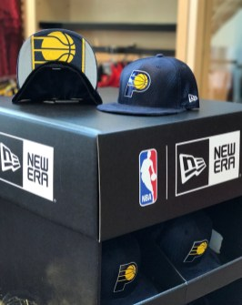 Pacers 2017 Draft Hat presentation at gift shop