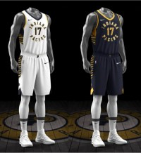 Pacers introduce new uniforms ad9ad8807