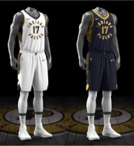 Pacers new Association and Icon uniforms