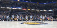 2017-10-15 Pacers FanJam team stretches