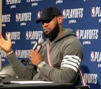 Cleveland Cavaliers, LeBron James, 2018 NBA Playoffs