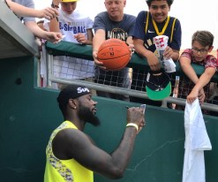 Lance Stephenson, Pacers, Victory Field, Charity Softball