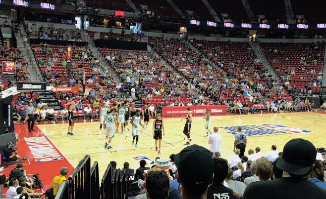 NBA Summer League, NBA, Thomas & Mack Center