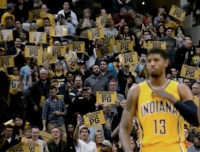 Paul George, Pacers, Bankers Life Fieldhouse