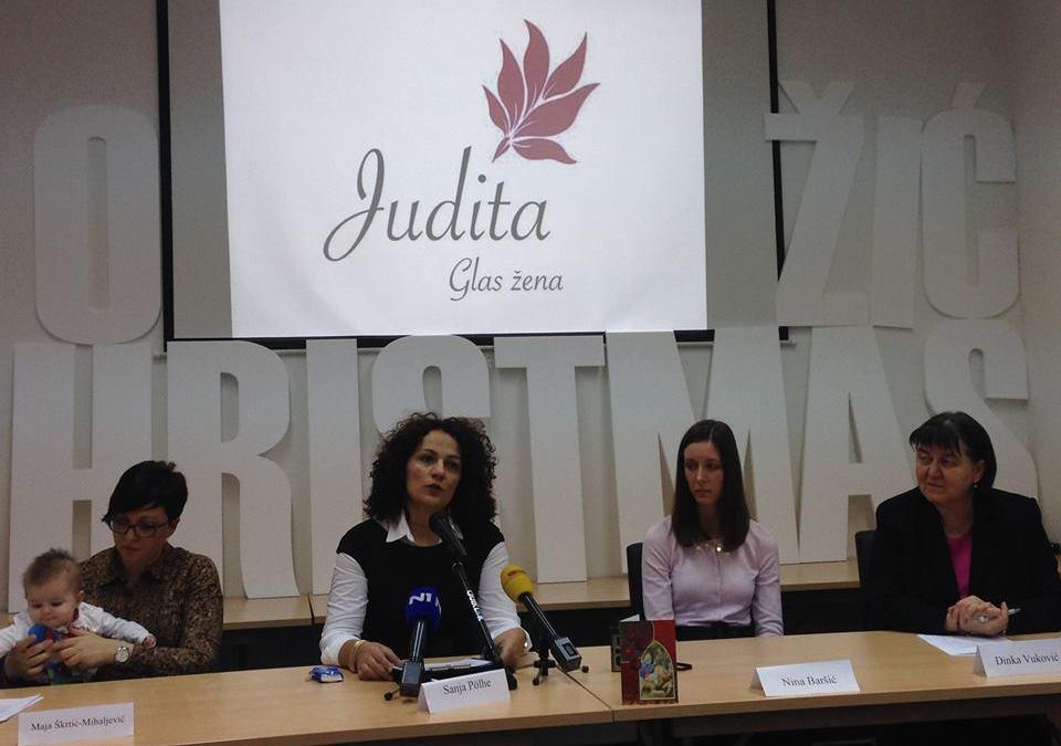 """Pokrenuta inicijativa za osnivanje ženske udruge """"Judita"""" – glas žena"""