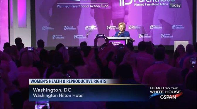 "Hillary Clinton Planned Parenthoodu: ""Uvijek ćete imati moju potporu"""