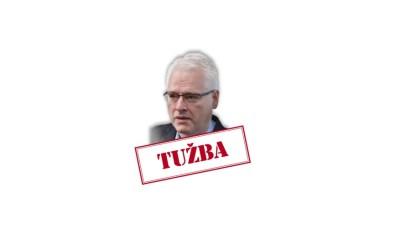 Tužba protiv bivšeg predsjednika Ive Josipovića