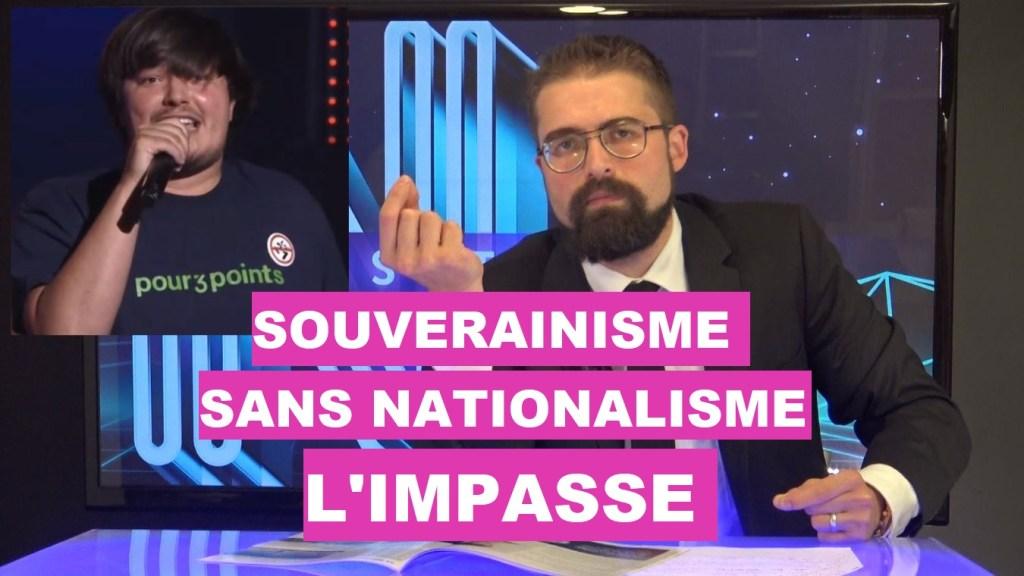 Souverainisme sans nationalisme : l'impasse