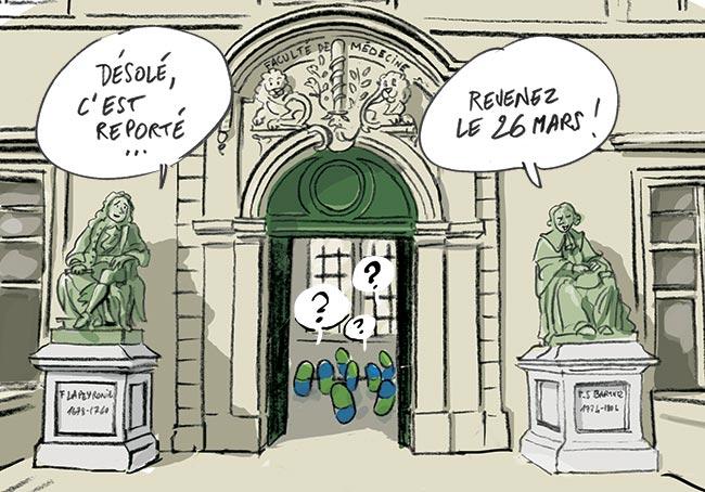 Report des 1ères RVS