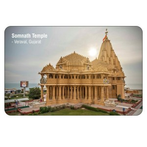 Somnath Temple Fridge Magnet