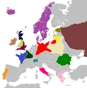 Image   Blank map of Europe ATL18 png   Alternative History   FANDOM     File Blank map of Europe ATL18 png