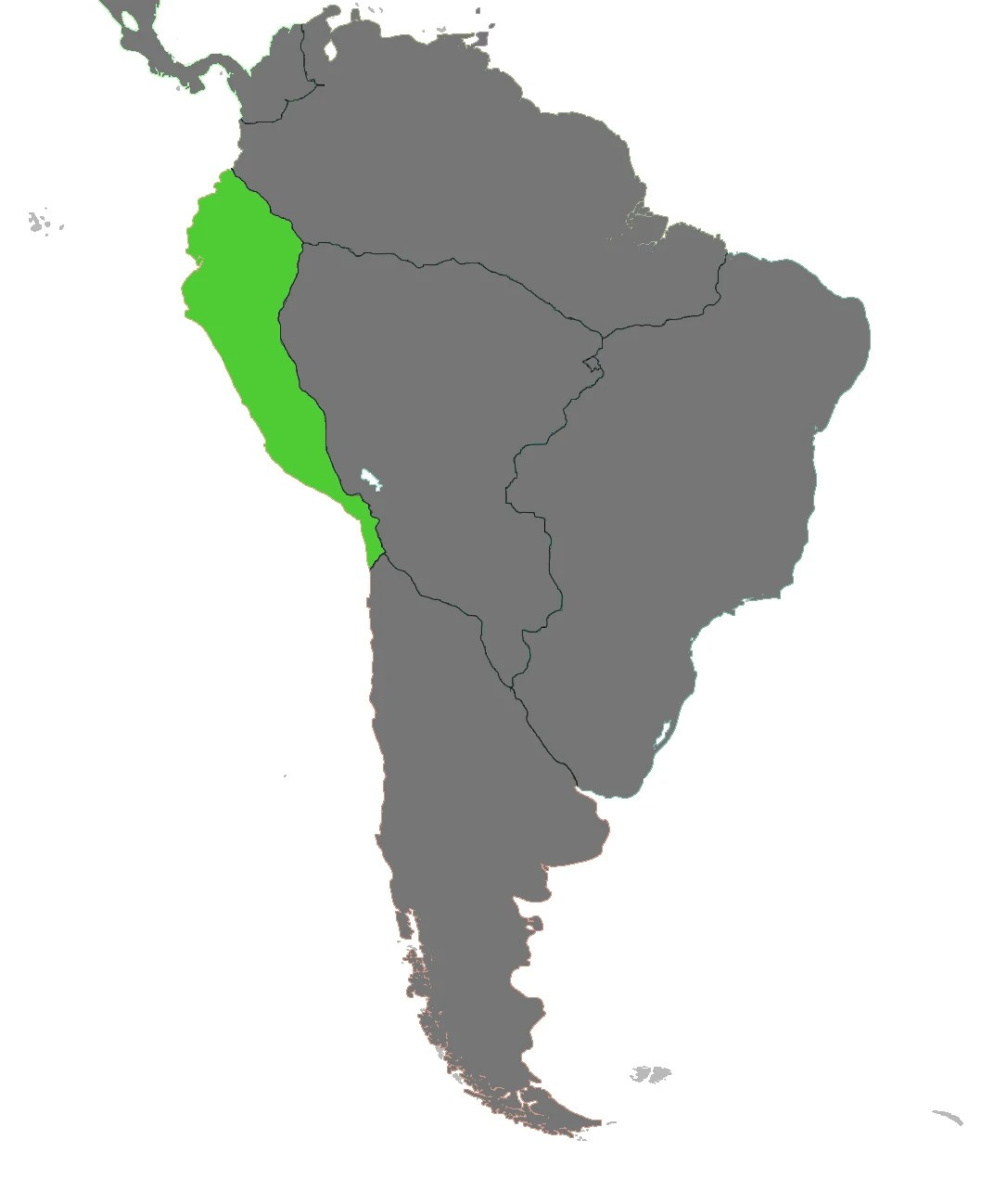 Image   Blank Map Inca VINW WITH FCC 2 jpg   Alternative History     Blank Map Inca VINW WITH FCC 2 jpg