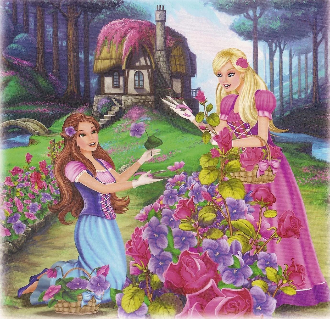 Image Barbie The Diamond Castle Book Scan 6 Barbie