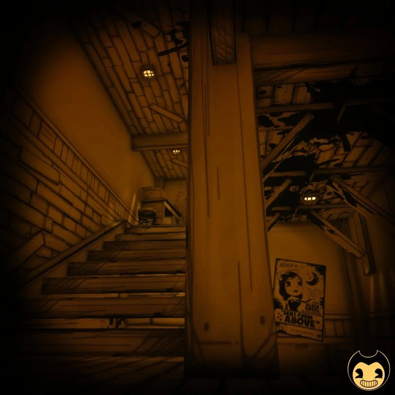Machine Henry Ink Characters Bendy And