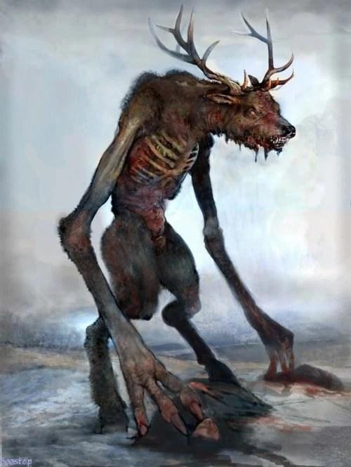 Deer Woman Sean Pence By Pernastudios On Deviantart