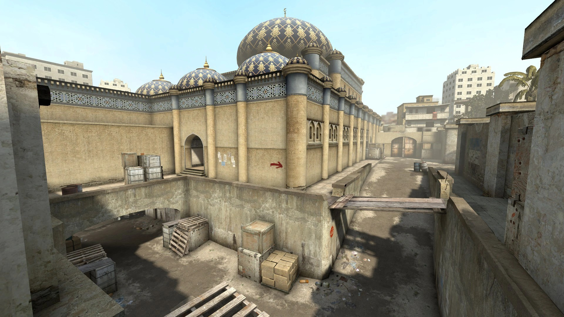 Map Offensive Global Counter Strike