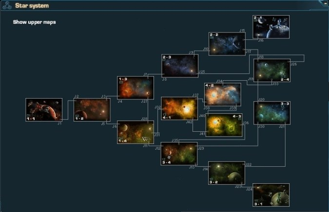 Map guide   DarkOrbit   FANDOM powered by Wikia A lower map is one of four maps that a company has that is usually a good  starting area for new players since there are demilitarized zones and such
