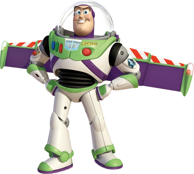 Art Lightyear Clip Flying Buzz