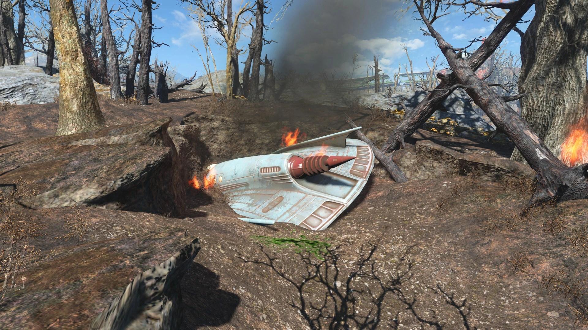 UFO Crash Site Fallout Wiki FANDOM Powered By Wikia
