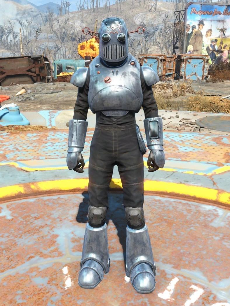 Mechanists Armor Fallout Wiki FANDOM Powered By Wikia