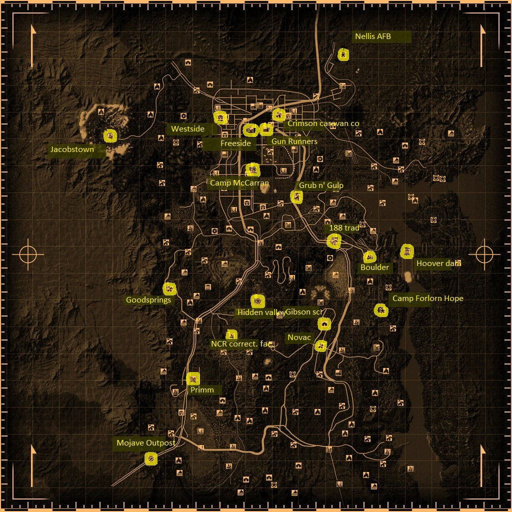 Fallout New Vegas Merchants Fallout Wiki FANDOM Powered By Wikia