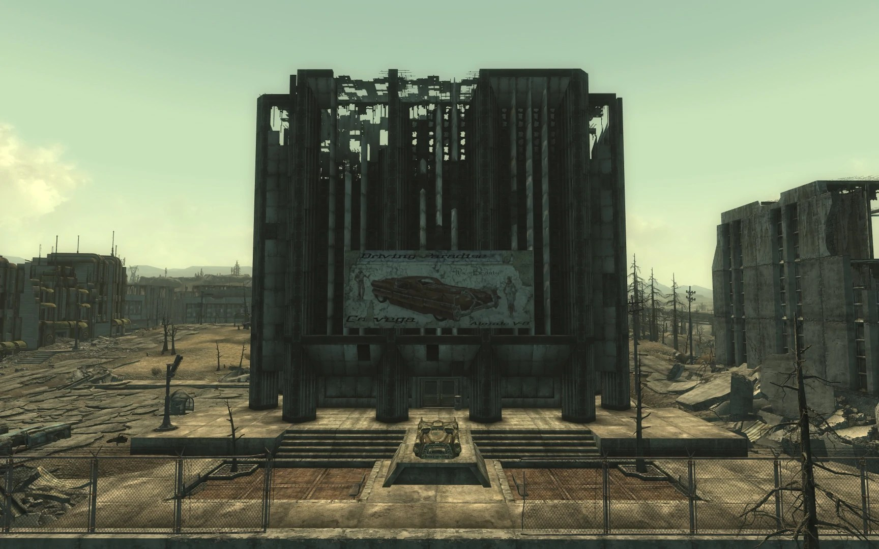 Chryslus Building Fallout Wiki FANDOM Powered By Wikia