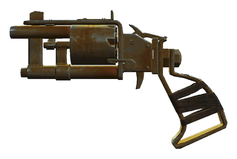 Pipe Revolver Fallout Wiki FANDOM Powered By Wikia