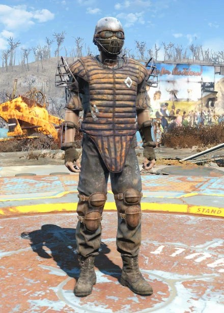 Fallout 4 Arm Guard Greave