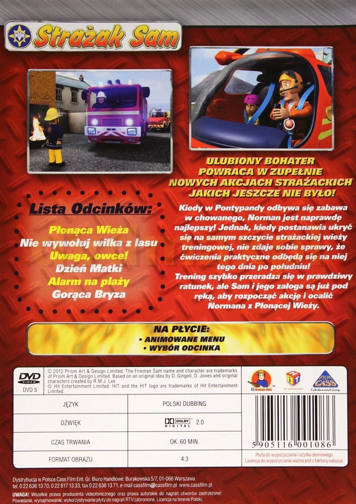 Towering Inferno DVD Fireman Sam Wiki FANDOM Powered By Wikia