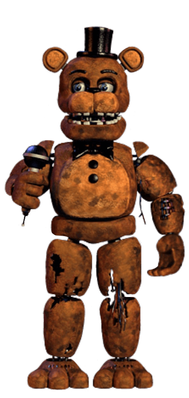 Old Withered Freddy Full Body