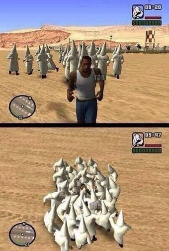 How To Create A Gang In Gta San Andreas Youtube