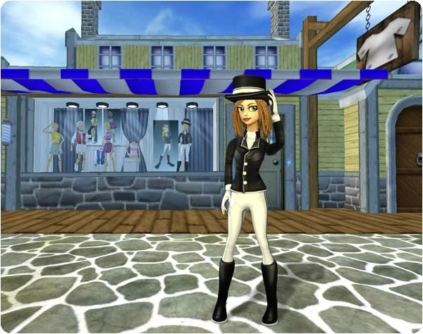 The Fashion Barn   Jorvikipedia   FANDOM powered by Wikia The dressage outfit from the Fashion Barn