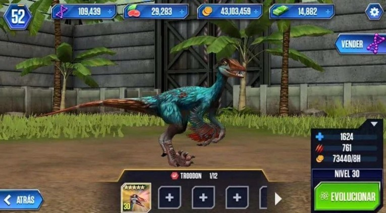 Image   Trodon30 jpg   Jurassic World The mobile game Wikia   FANDOM     Trodon30 jpg