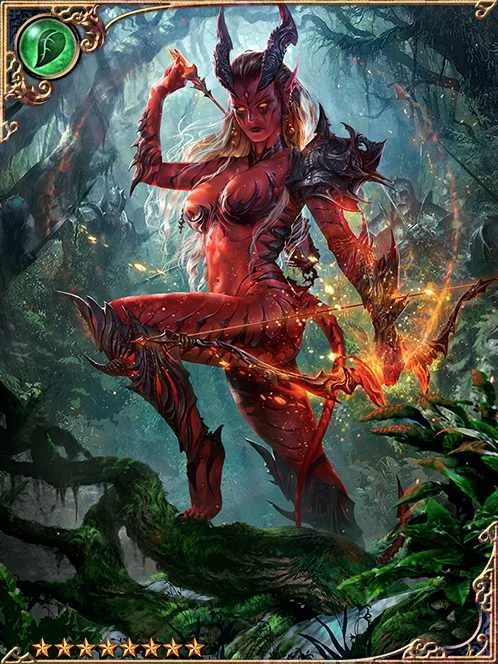 Furious Spirit Red Shadow Belleza Legend Of The