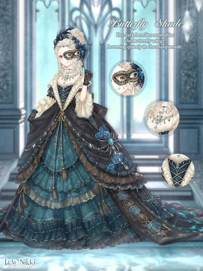Butterfly Shade Love Nikki Dress Up Queen Wiki Fandom