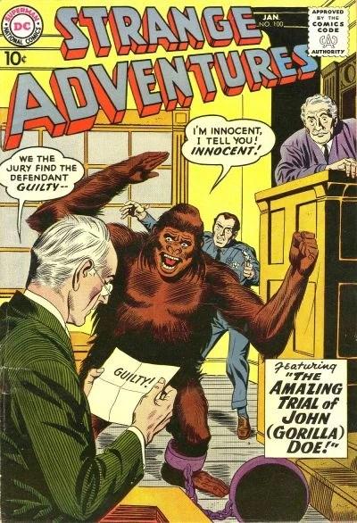 Strange Adventures Vol 1 100 DC Database FANDOM