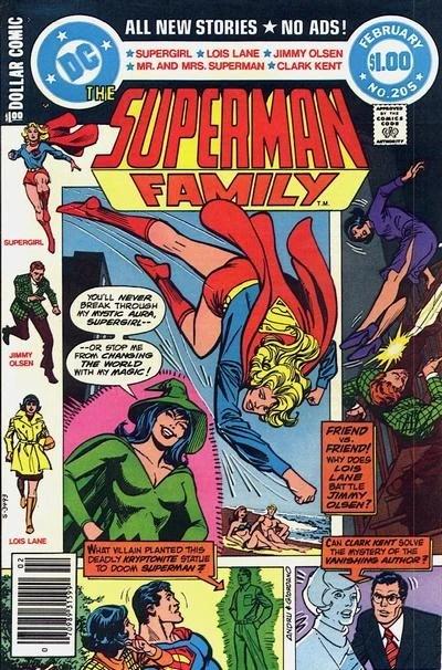 Superman Family Vol 1 205 Dc Database Fandom Powered